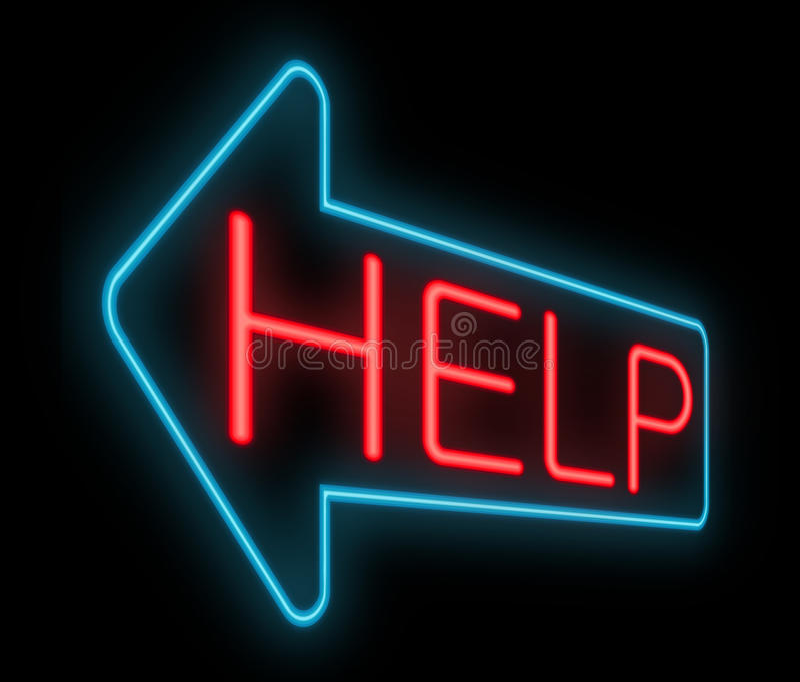 Download Help concept. stock illustration. Illustration of needing - 29573974