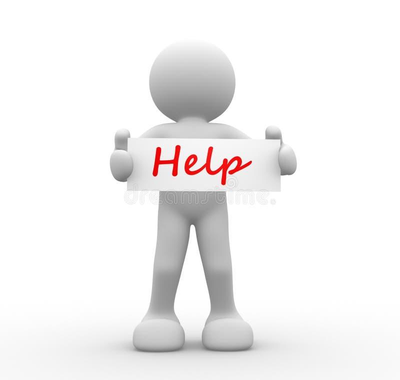 Download Help stock illustration. Illustration of education, banner - 39513096