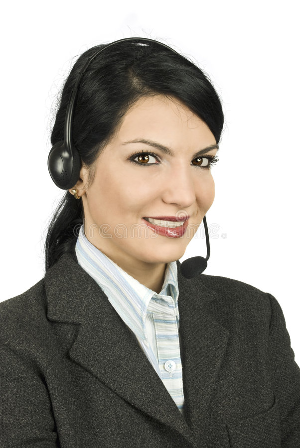 Download Help desk assistant 911 stock photo. Image of attractive - 8223898