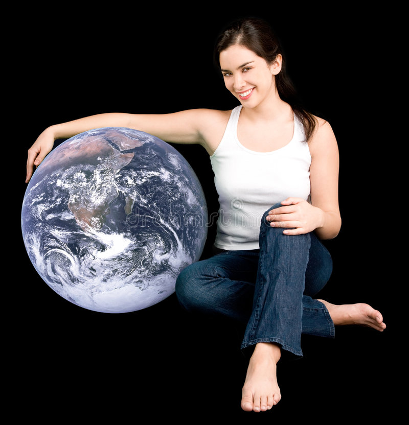 Help Earth Be Your Friend Royalty Free Stock Photo