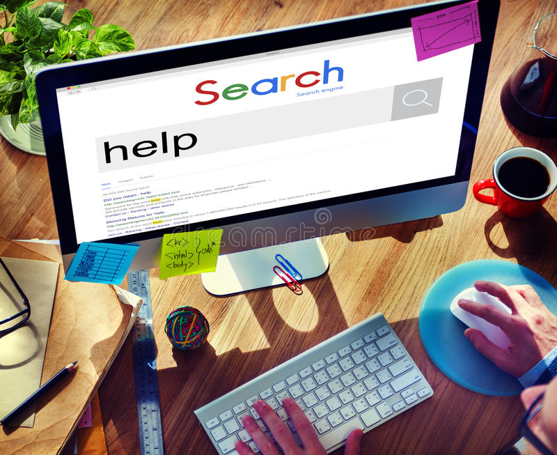 Help Helping Hand Assistance Charity Concept royalty free stock images