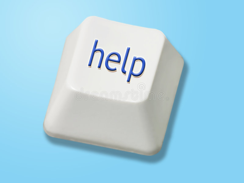 Download Help key stock image. Image of computers, communication - 1592011