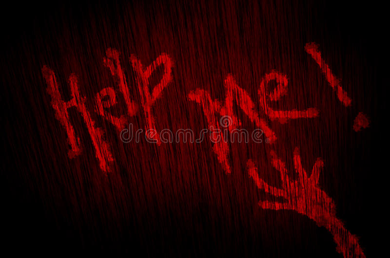 help me blood texture background royalty free stock photos