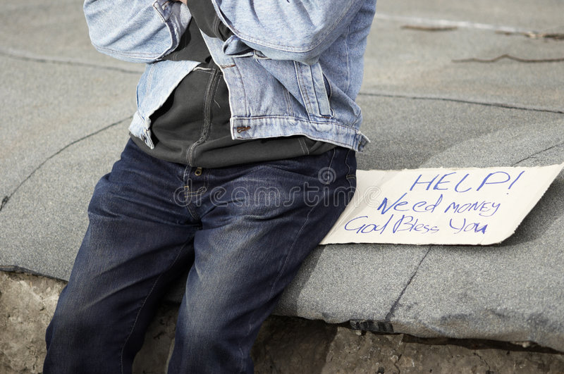 Download Help! Need money! stock image. Image of destitution, bless - 717013