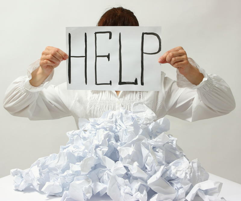 Download Help stock photo. Image of problem, overworked, holding - 38994882