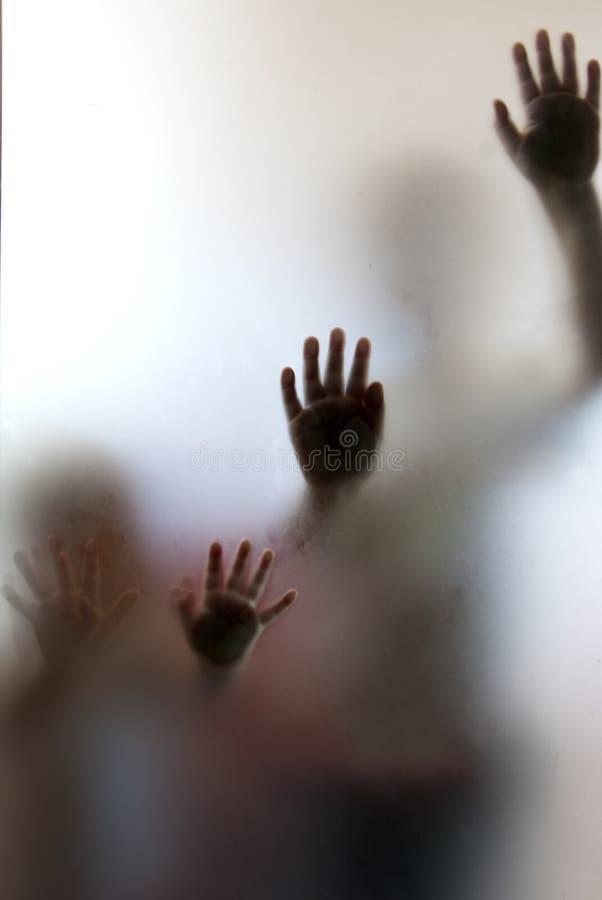Download Help us! stock image. Image of glass, children, inside - 15602891