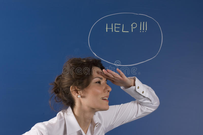 Download Help wanted stock illustration. Image of message, dreaming - 22144565