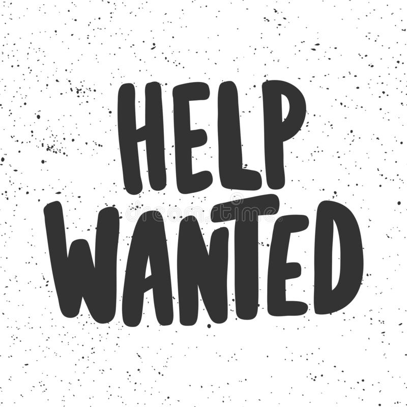 It is a picture of Epic Printable Help Wanted Sign