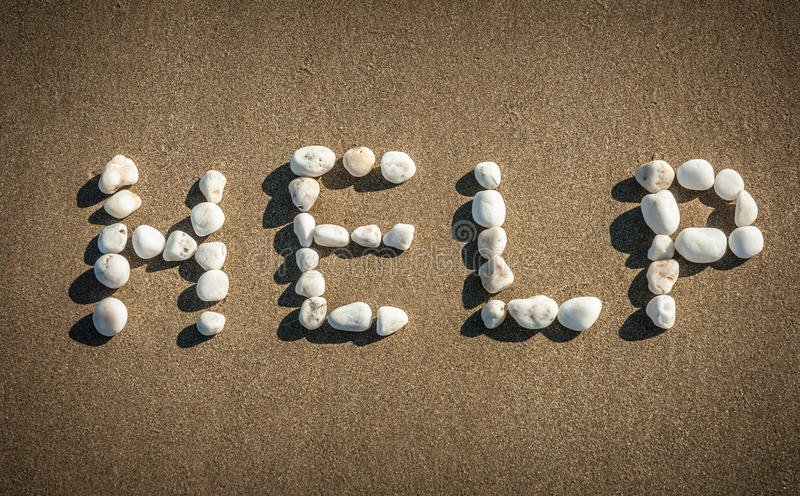 Download Help ! stock photo. Image of shore, bold, natural, assistance - 37283062