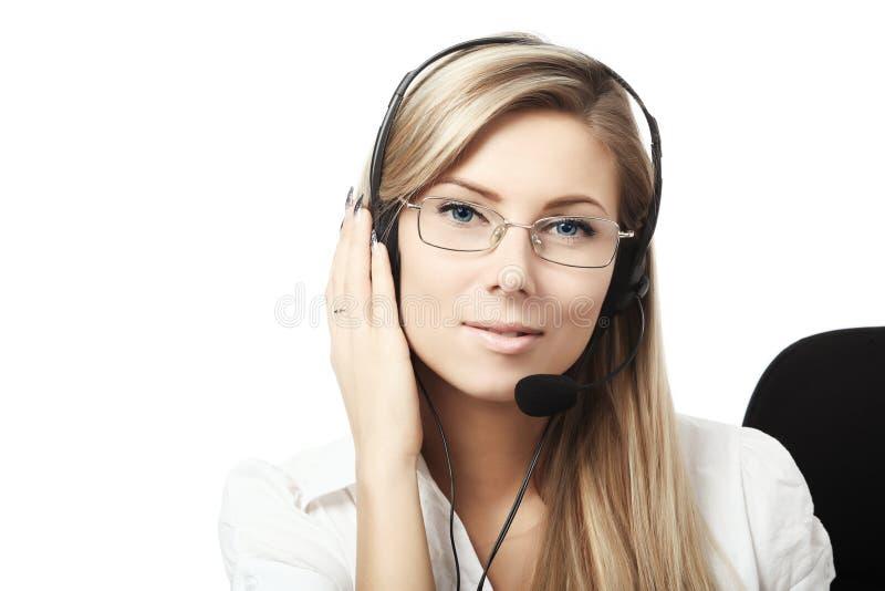 Download Helpdesk stock image. Image of girl, female, communication - 8194741