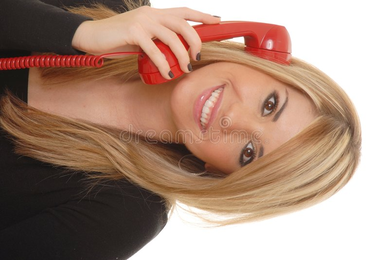 Helpdesk Girl 230 royalty free stock photos