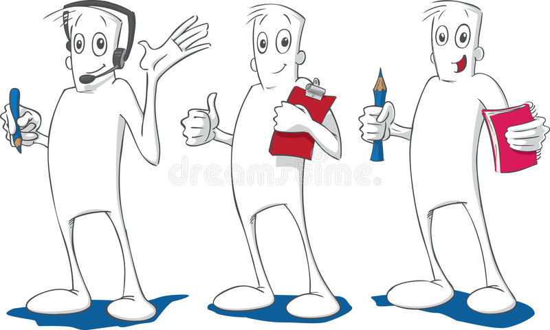 Download Helpful Guy stock vector. Illustration of mouth, clip - 5247710