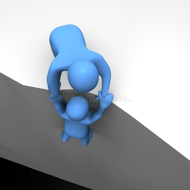 Download Helping In Dangerous Situation Stock Photo - Image: 9929210