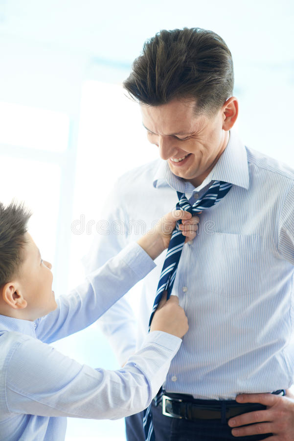 Download Helping father stock image. Image of parent, elegance - 33382301
