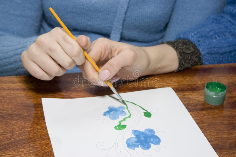 Helping hand stock images