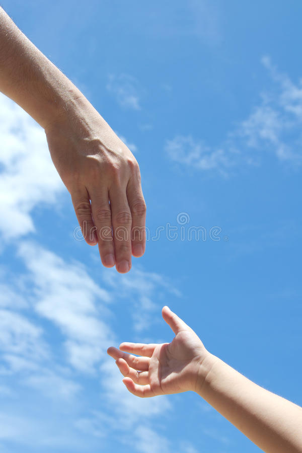 Download Helping hand stock image. Image of helping, adult, concept - 23805879