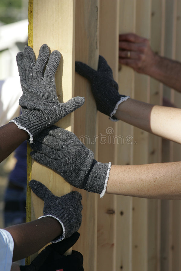 Helping Hands stock images