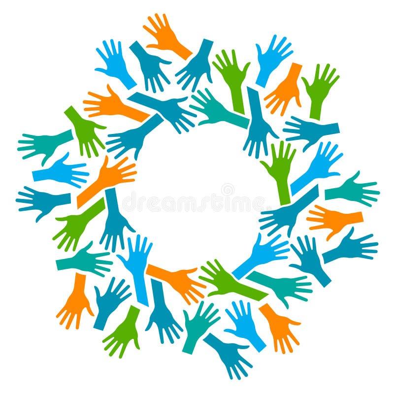 People Logo  Hands Stock Vector  Illustration Of Leader