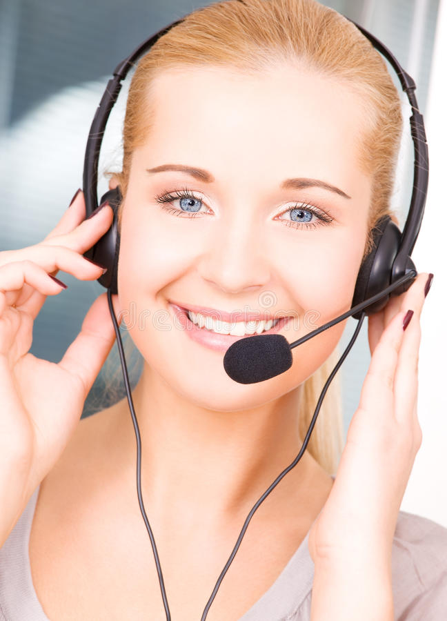 Download Helpline stock photo. Image of blonde, chatting, business - 10444638