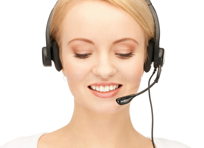 Download Helpline stock image. Image of assistant, cheerful, chatting - 22013337