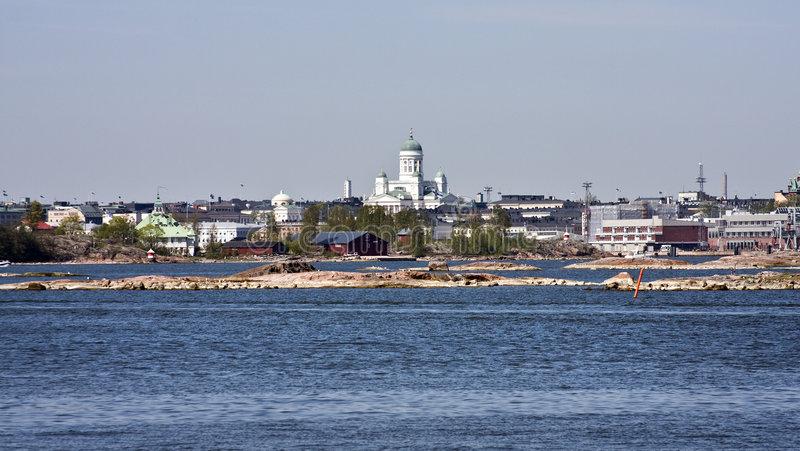 Helsínquia fotografia de stock royalty free