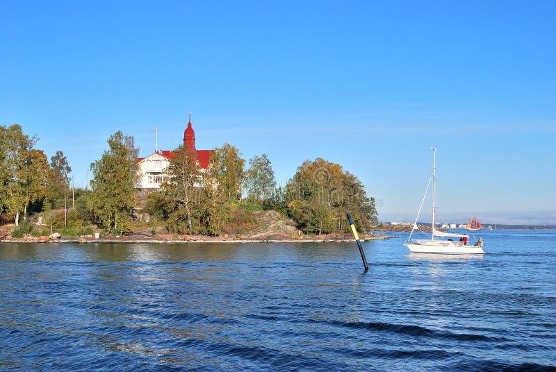 Helsínquia, console Luoto foto de stock royalty free