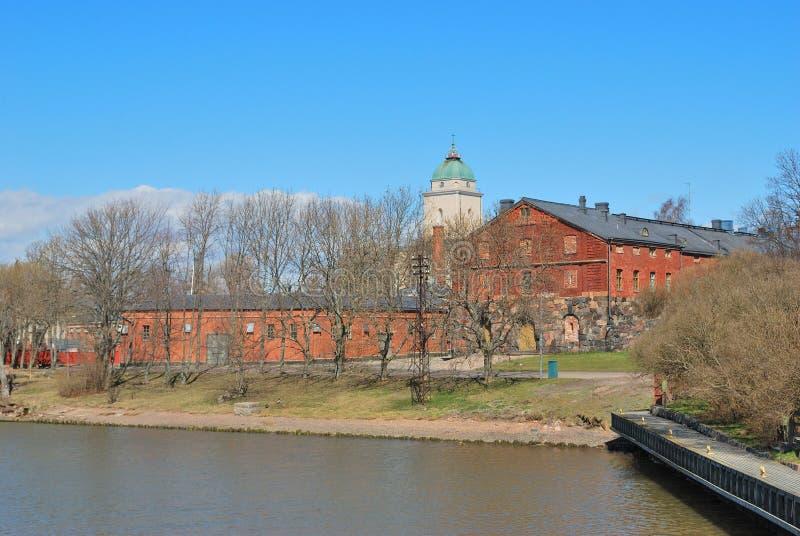 Helsínquia, fortaleza Suomenlinna fotos de stock