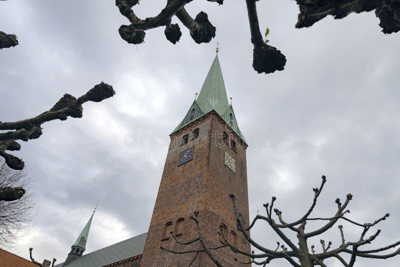 Helsingør-Kathedrale lizenzfreies stockfoto