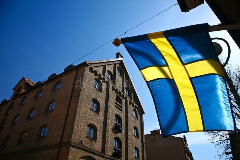Helsingborg在瑞典 库存图片
