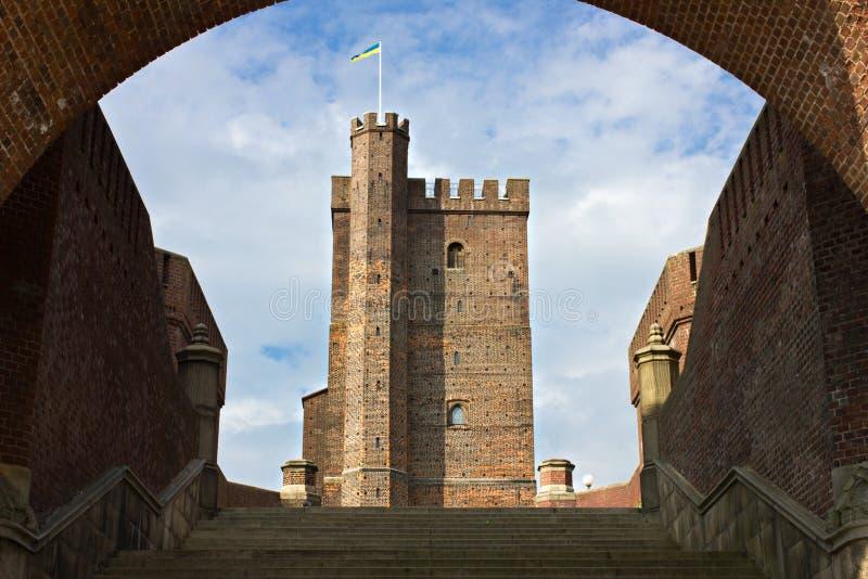 Helsingborg średniowieczny wierza fotografia stock
