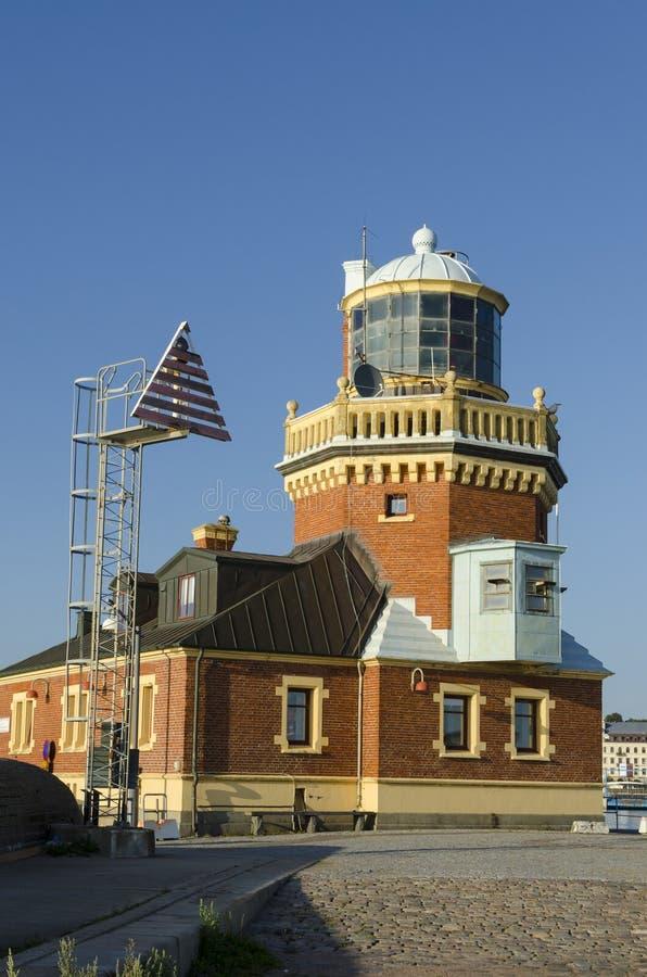 Helsingborg latarnia morska obraz royalty free