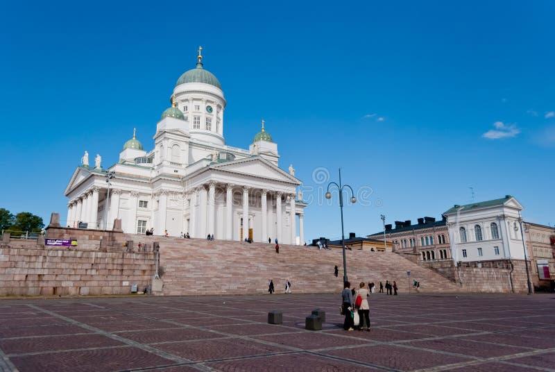 Download Helsingfors Domkyrka, Finland Arkivfoto - Bild av neoclassical, kultur: 27286106