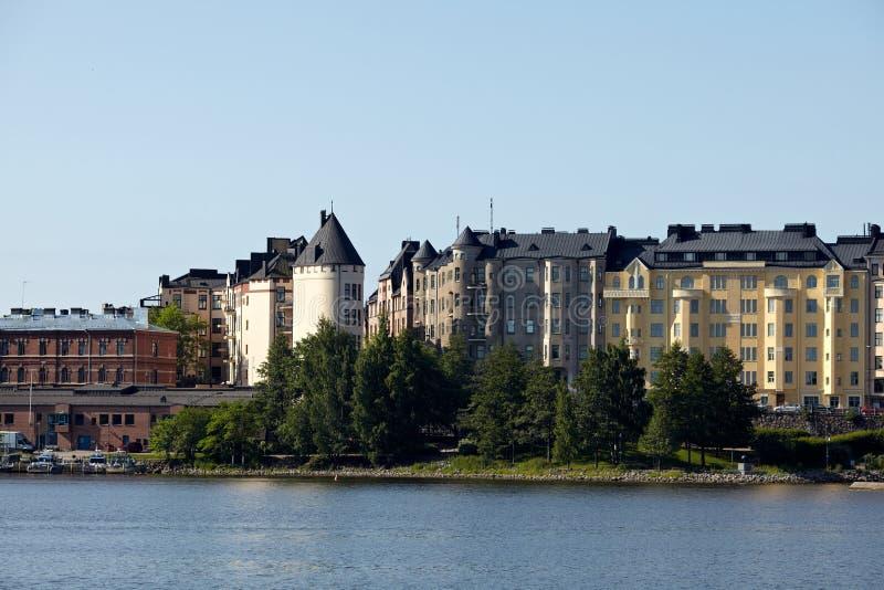 Helsingfors stad royaltyfria bilder