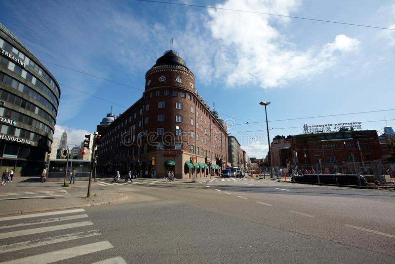 Helsingfors stad arkivbild