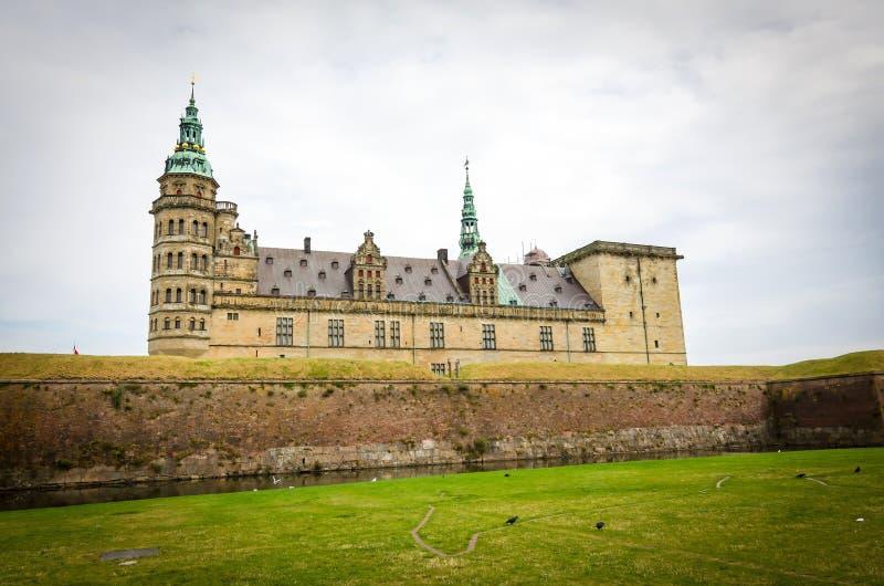 Helsingor κάστρο στοκ εικόνες με δικαίωμα ελεύθερης χρήσης