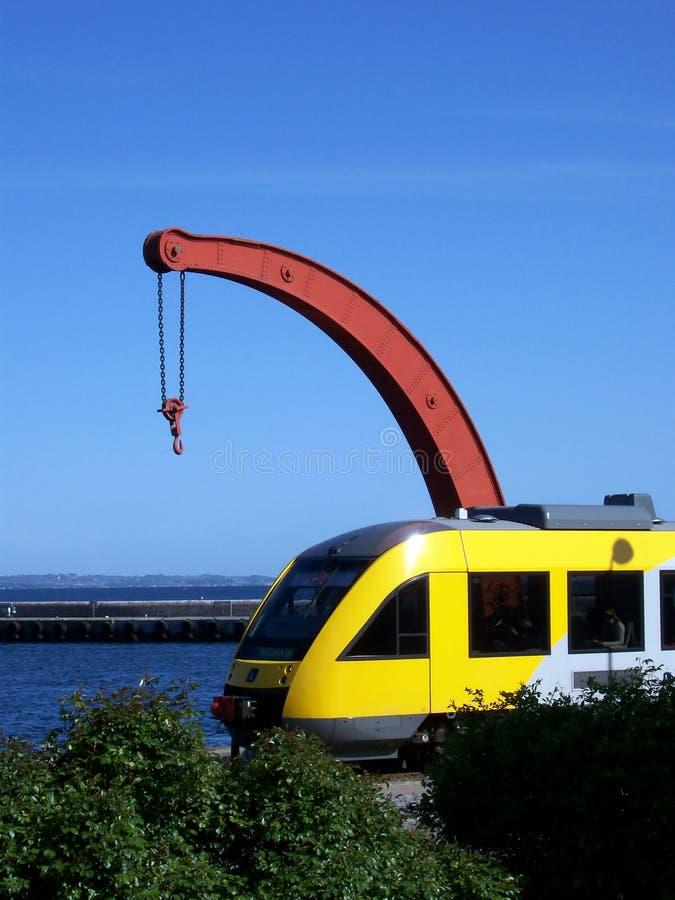 helsingor τραίνο στοκ εικόνα
