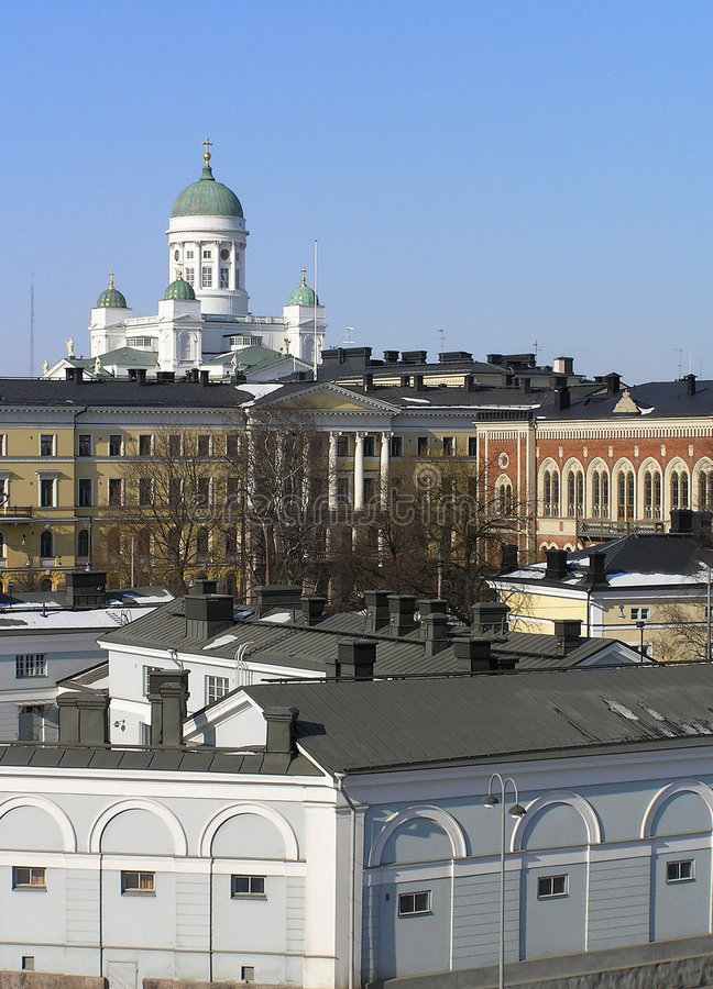 Helsinki immagine stock