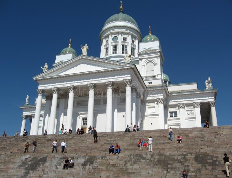 Helsinki royalty-vrije stock afbeelding