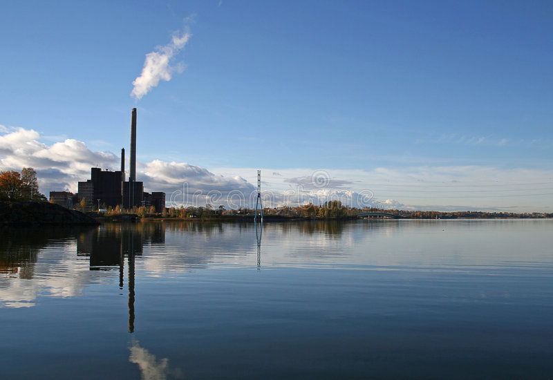 Download Helsinki stock photo. Image of clear, factory, industrial - 307408