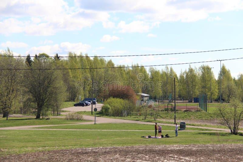 Helsinki-Ansicht lizenzfreie stockfotografie