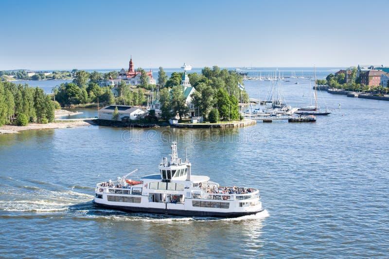 Helsinki-Ansicht stockbilder