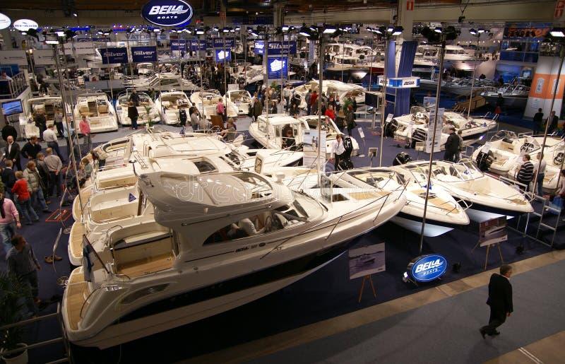 Helsinki Boat Show 2009 Editorial Photography