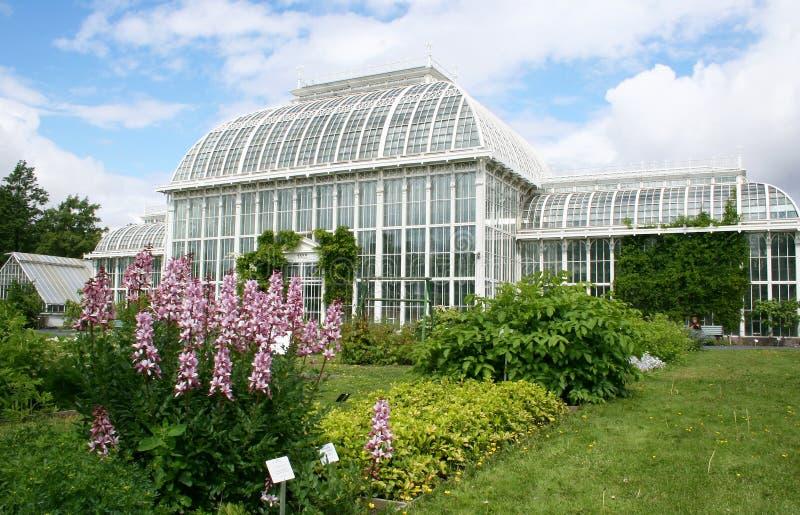 Helsinki botanical garden stock images
