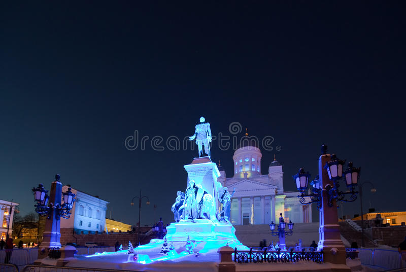 Download Helsinki cathedral stock photo. Image of piece, luminous - 18561052