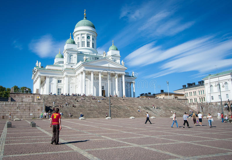 Helsinki Cathedral royalty free stock photo