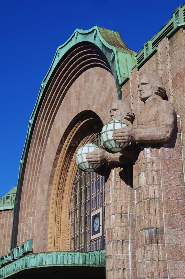 Helsinki central station, Finland royalty free stock image