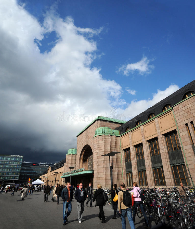 Helsinki Centrum obraz royalty free
