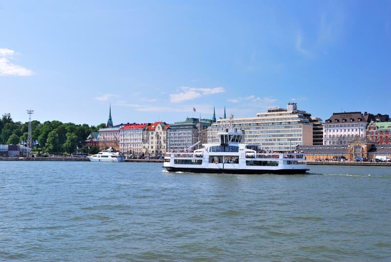 Helsinki, de Kade van het Zuiden stock foto