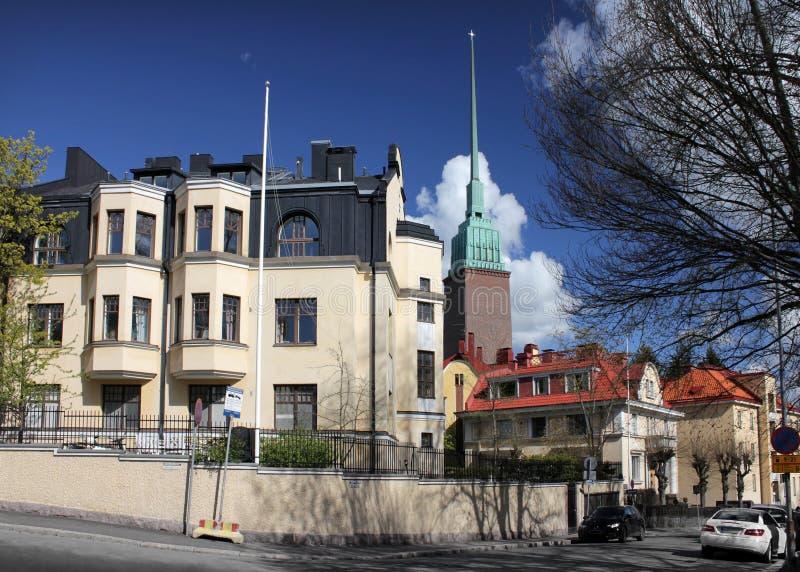 Helsinki, Eira stock photography