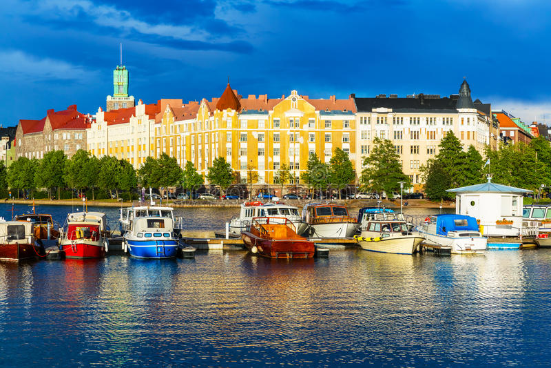 Helsinki, Finland stock photo
